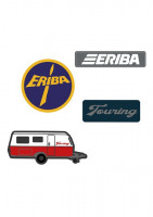 4-teiliges Set aus ERIBA Touring Patches