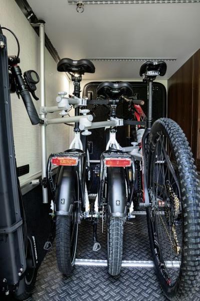 Porte-vélos - Bike Carrier à 2 vélos Variante MB/Citroën (véhicules SANS gradin dans le garage)
