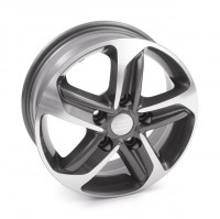 "Alloy rims 14"" Polished anthracite"