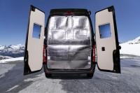 Isolation arrière relevable pour les portes arrières Free S 600