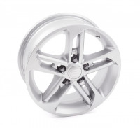 "Alloy rims 15"" Chrystal silver"