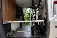Bike Carrier à 2 Vélos - Version Fiat (véhicule AVEC gradin/palier dans le garage)