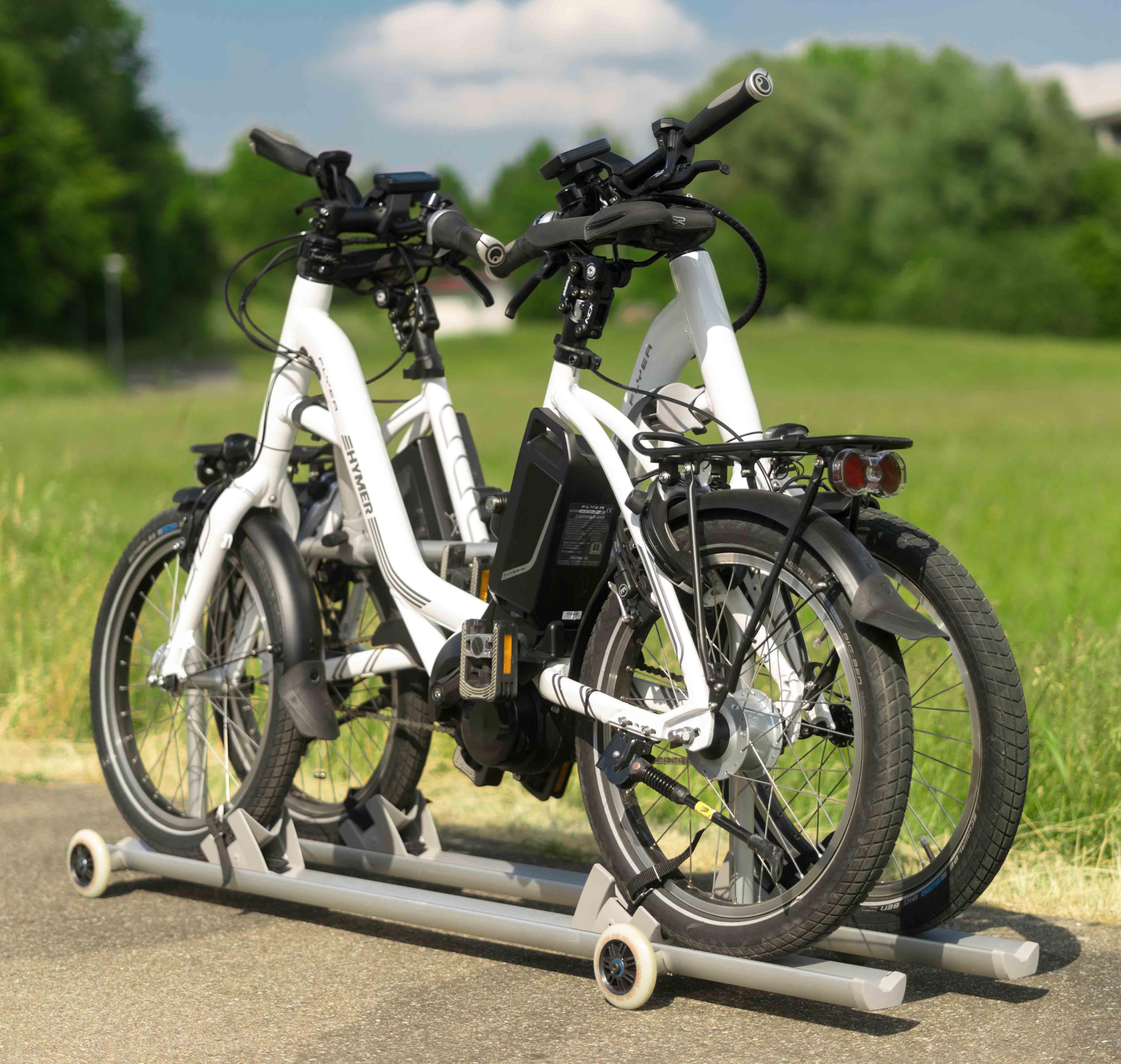 hymer fahrradaufsatz fahrradhalter tr gersysteme. Black Bedroom Furniture Sets. Home Design Ideas