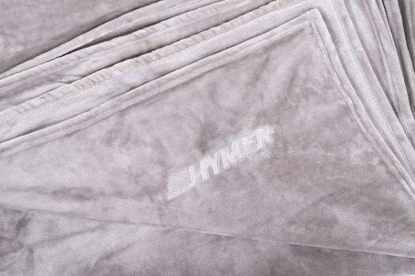 Cosy blanket platinum grey