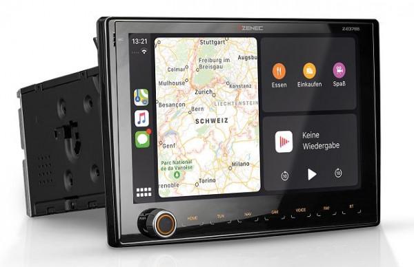 Pack multimédia Zenec 3766 + double caméra de recul 2.0 avec précâblage Waeco