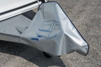 Deichselschutzhaube PVC-Planenware mit ERIBA Logo