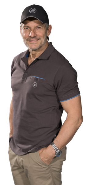 Chemise polo homme