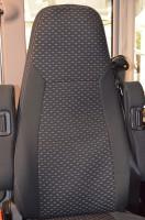 Schonbezüge für ML-T original Mercedes Sprinter-Sitzen in Farbe graphit
