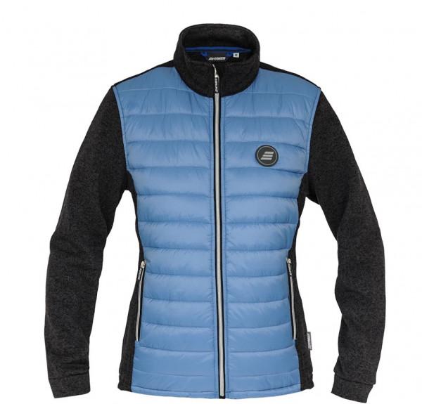 Women's knitted fleece jacket