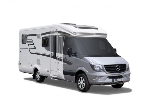 Transparente Sonnenschutzmatte für Hymer ML-T auf Mercedes Sprinter
