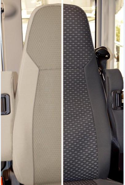 Schonbezüge für Fiat Captain Chair X290 beige